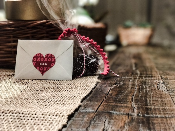 Personalized Valentines Stickers