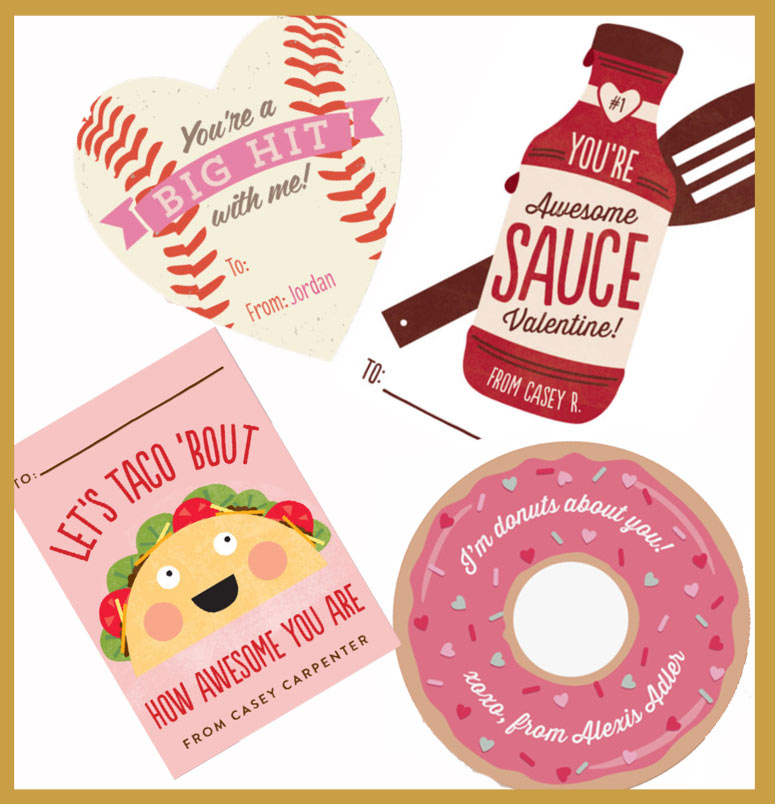 Clever Valentines for Girls