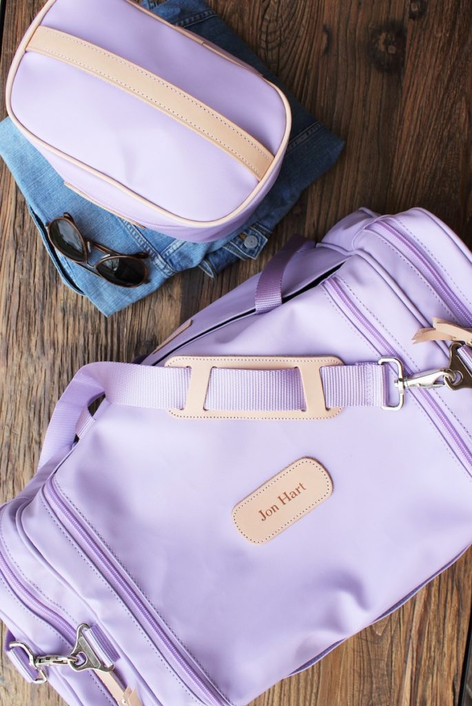 Jon Hart Lilac Luggage