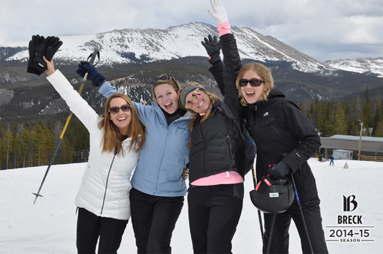 Girls trip to Breckenridge
