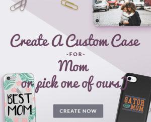 Custom phone case for mom