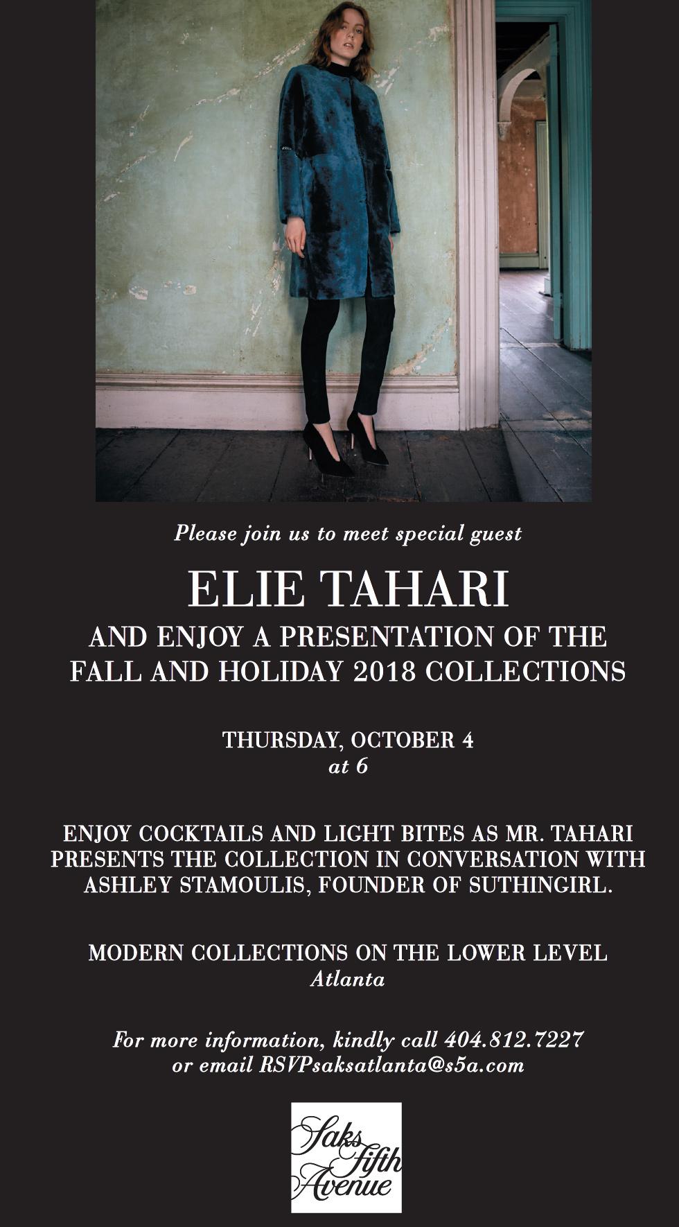 eli tahari fall and holiday 2018 collection